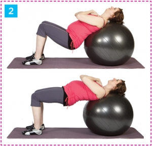 bridge on stability ball l